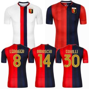 2020 2021 Gênes CFC Soccer Jerseys Gênes Zappacosta Bani Scamacca Gumus PJACA 20 21 Home Away Football Shirt S-2XL