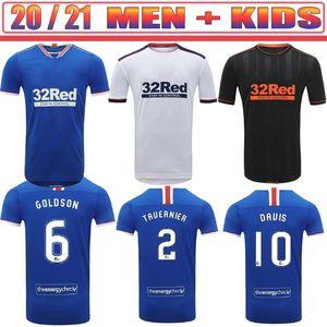 KATIC GLASGOW DAVIS Soccer Jerseys 2020 21 MORELOS TAVERNIER MURPHY KENT JACK LAFFERTY ARFIELD RANGERS DOCHERTY Football shirt