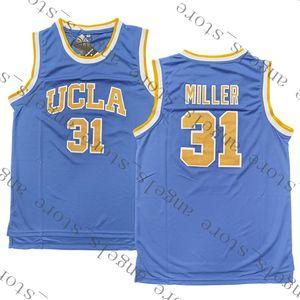 9.28 NCAA Campus bear UCLA 31 Miller Basketball Jersey 23 James 3 Wade 30 Curry 2 Leonard University 11 Irving 1 Lillard 25 Banks 33 Bird