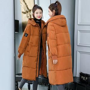 7XL 8XL Plus Size Women Parkas Casual Autumn Winter Hooded Long Jacket Female Coat Thick Warm Winter Jacket for Women New 201027
