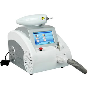 Vendita 1064nm 532nm Q Switched ND Yag Laser macchina per la rimozione del tatuaggio del sopracciglio pigmento rimozione delle rughe bambola nera peeling di carbonio