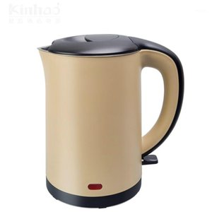 Electric Kettles Small Capacity Kettle Double Insulation 304 Stainless Steel Health Care Foam Teapot1