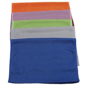 Toalla de secado rápido viajar al aire libre portátil Yoga Gimnasio fría sensación de fitness Toallas de enfriamiento rápida de Deportes Natación toallas de tela
