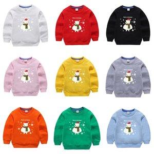 Weihnachten gestrickte lange Ärmel Kind Pullover Winterkleidung 2020 Japan Art Beiläufig Standard-Designer-Pullover # 135