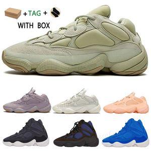 2020 yeezy yezzy yeezys yezzys enfant boost Soft Vision Stone Bone White Shoes Homens Mulheres Moon Amarelo Utility Blush 500S Salt Kanye West 500 Designer Sports Sneakers Wave Run