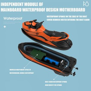 M5 2.4G Mini Remote Control RC Boat Motorboat Children's Educational Summer For Water Model Learning in Skiing Children Toy S9W0