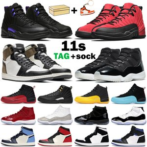 air jordan retro 1 basketball shoes 12 Scarpe da basket da uomo jumpman 11 25th Anniversary 11s Space Jam 12s Dark Concord Flu Game 1s Dark Mocha Obsidian uomo donna sneakers