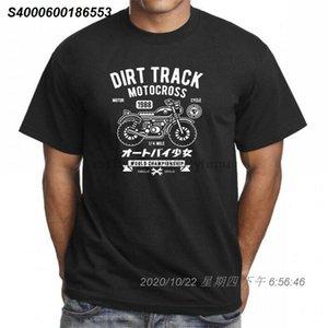 DIRT TRACK MOTOCROSS FRESCO IMPRESSO T-shirt do T TOP 52162310