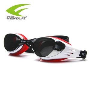 Swiming Goggles Men Women Electroplate Eyewear Waterproof Silicone Anti Fog Sport Glass Water Diving Swim Pool Glasses