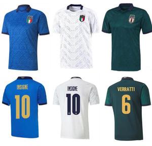 S-4XL 2019 2020 ITALY European Cup Fußball Jersey 19 20 grün weg Jorginho EL Shaarawy BONUCCI INSIGNE Bernardeschi Fußball Hemden