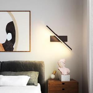 Armatür Modern Led Duvar Işıklar İçin Oturma odası Yatak odası Başucu odası Mutfak Lustres -siyahbeyaz Sconce Duvar Lambası Led Lustres