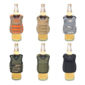 Mini Vest Bottle Cover Personality Bottles Can Cooler Holder Sleeve Decorate Wine Covers Superior Quality Fashion Portable