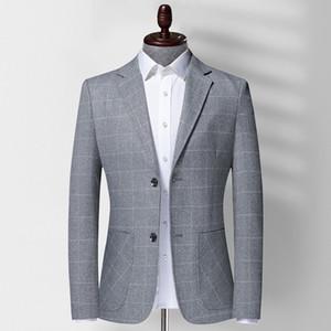 2021 V Long Neck Sleeve Mens Corduroy Blazer Moda Único Tecla contínua Mens Cor Suits Jacket Primavera Masculino Vestuário