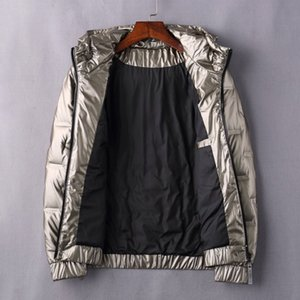 Fashion Autumn and Winter Men's Down Jacket Fluffy and Warm High-quality Lightweight and Simple Trendy Hooded Jackets