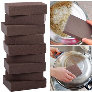 Kitchen Home Rust Removing Cleaner Carborundum Magic Sponge Brush Kitchen Cleaning Washing Tool Rust Removing Cleaner DHL Free