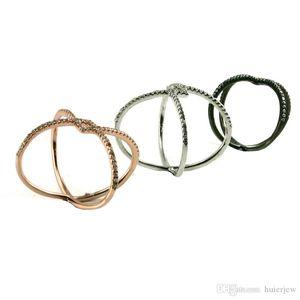 El modelo geométrico único de la banda Descuento anillos de banda Ajuste del diente moda de moda anillos de banda para R10189
