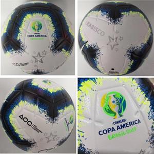 2019 Copa America futbol topu Final KYIV PU boyut 5 topları kaymaz futbol Ücretsiz yüksek kaliteli topu nakliye granülleri