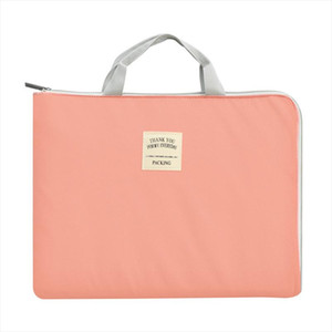 Waterproof Nylon Document Bag Portable Women Office Bags Business Men Bags Organizer Laptop Bag Soft Handle Handbag Tote 2019