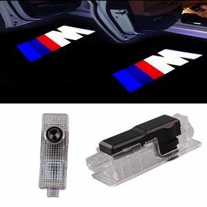 باب السيارة LED شعار العارض شبح الظل الظل ترحيب أضواء ل bmw m 3 5 6 7 z gt x البسيطة رمز شعار مجاملة خطوة الأنوار كيت جديد وصول جديد