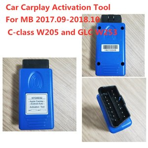 For Benz apple carplay Auto Activation Tools NTG5 S2 OBD Connector for 2017.09-2018.10 C-class W205 and GLC W253 Free Shipping