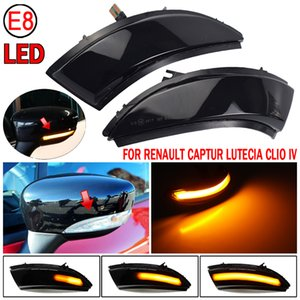 For Renault Captur Kaptur 13-16 Clio IV MK4 13-18 Car Accessories Dynamic Turn Signal Light LED Mirror Sequential Indicator Lamp
