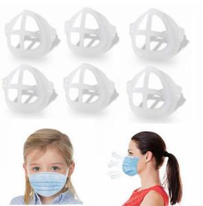 Cara 3D máscara interior para adultos anti polvo Máscaras Soportes lápiz labial ayuda del marco de la mascarilla del soporte de protección labial Accesorios LSK1812