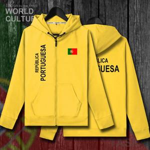 Portugal Português Portuguesa PT mens Polares hoodies jaqueta de inverno homens jaquetas casacos casuais nação roupas de treino país