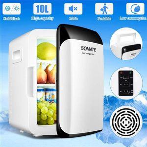 Автомобильный холодильник Авто-холодильник 10л DC12V / AC220V портативный мини холодильник компрессор для кемпинга морозильник -18 ~ 65 градусов1
