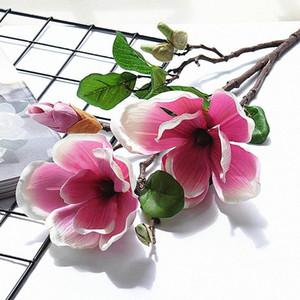 imperatore magnolia fiore artificiale hotel Home shopping mall decorazione di nozze fotografia prop decorazione falsificazione fiore 639G #