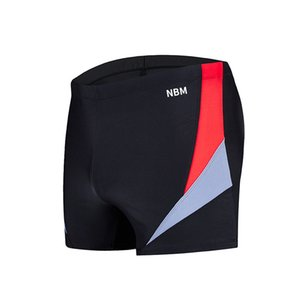 Men's swimming trunks, boxers, hot spring swimming trunks, fast drying, fashionable sports, anti embarrassment, color matching and color