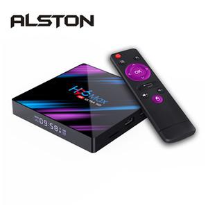 ALSTON H96 MAX RK3318 Smart TV Box Android 10.0 2GB 16GB Medya oynatıcı 4K Google Netflix H96MAX TVBox