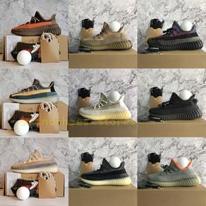 Kutu Çorap Eliada Yecher Asriel'den İsrafil cüruf Siyah Yansıtıcı Zyon Kanye West Ayakkabı Boyutu 13 Erkek Eğitmenler Kadınlar Sport Sneakers Running With
