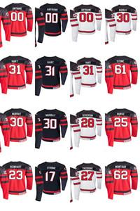 2019 IIHF 세계 선수권 대회 캐나다 하키 유니폼 트로이 스테 르 저지 Mackenzie Blackwood Darnell 간호사 Tavares Jared McCann 맞춤형 스티치