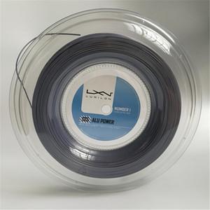 Hohe Qualität Luxilon Big Banger Alu Power Tennis Racquet String 200m graue Farbe gleiche hohe Qualität als original Luxilon String