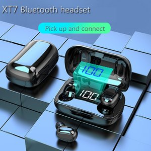 XT7 TWS Wireless Headphone Bluetooth 5.0 Hi-fi Sound led Display Stereo Earphone Earbuds Mini Headsets For phone