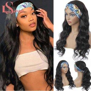 LS Body Wave Umano Easy Half Half Brasilian Remy Fascia Natural Hair Machine parrucca