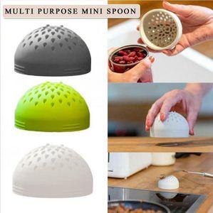 Micro Silicone Colander Multipurpose Colander Multi Small Canned Filter Funnel For Kitchen Home Accessories LJJP606