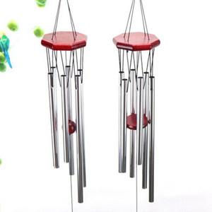 Wind ChimesOutdoor Metallgarten 6 Rohr Windchime Kapelle Bell Wind Chimes Startseite Ornament Handwerk Geschenke KKA8266