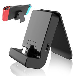 Charging Stand NS Game Game Console Charger محطة حوض ل Nintendo Switch Game Console Type-C شحن قاعدة