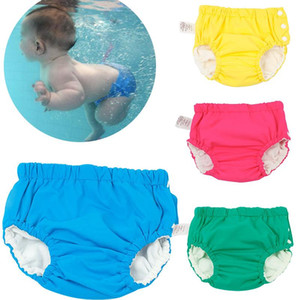 Baby Swim Nappy Diaper Cover Waterproof Swimwear Cloth Nappies Swimming Trunks Pool Pants Infant children's reusable panties