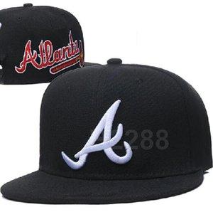 Braves hat Basketball Cap snapback Football Caps Curved Flat-brim Team Size ball Baseball Cap Brands Sports Chapeu men and women a05