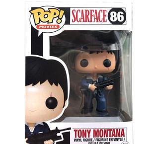 Nuova vendita calda Funko Pop Scarface 86 # Tony Montana PVC Collezione Figure Giocattoli per regali di compleanno