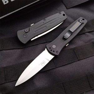 borboleta BM3551 BM3550 única ação caça acampamento tático dobrável coleção da faca facas xmas presente facas automáticas a3117