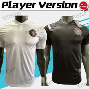 MLS 20 21 Versión jugador del Inter Miami camiseta de fútbol BECKHAM HIGUAIN blanco 20/21 Inicio camisa ausente del fútbol personalizado negro uniforme de fútbol