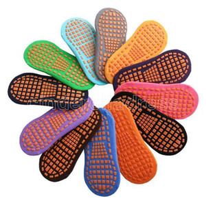 Носки Носки батуты Точка Клей Нескользвательный Пол Носок Хлопок Детские Ранние Образование Детей Взрослый Домашний Носки Yoga