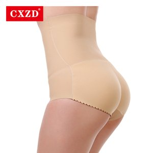 CXZD المرأة سلس الملابس الداخلية عالية الخصر البطن تحكم المشكل وهمية الحمار بعقب رفع موجز هوب يصل مبطن بات رافع دفع ما يصل الملابس الداخلية