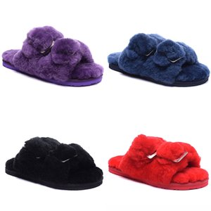 Unisex Women Men Striped Soft Sole Home Slippers Warm Cotton Shoes Lazy Indoor Slippers Slip-On Shoes For Bedroom House