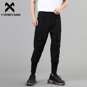 11 ByBB Dark Dark 2021SS Tasche patchwork Cargo Pant uomo Harajuku Streetwear Pants Tactical Joggers Pantaloni da uomo Techwear nero