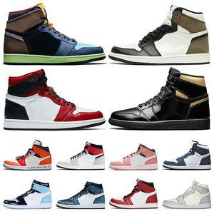 Travis Low 1S 1 Jumpan Shoes Sports Scotts Chameleon Court Black Chicago Gray Shadow Royal Green Lakers Toe Toe Toe