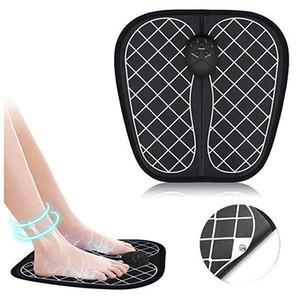كهربائي EMS القدم مدلك الوسادة أقدام العضلات تحفيز تدليك القدم حصيرة تحسين الدورة الدموية تخفيف الوجع الألم الصحة Care567